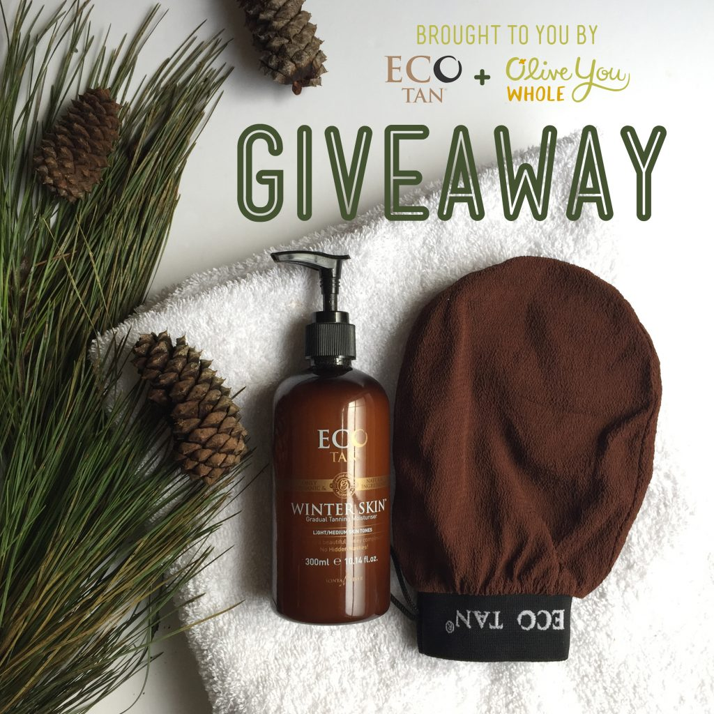 Eco Tan Review Giveaway Image