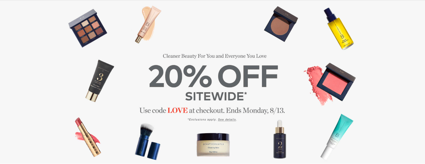 Beautycounter SALE: Make the Switch to Safer!