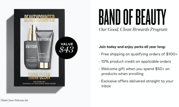 Beautycounter Band of Beauty Perks