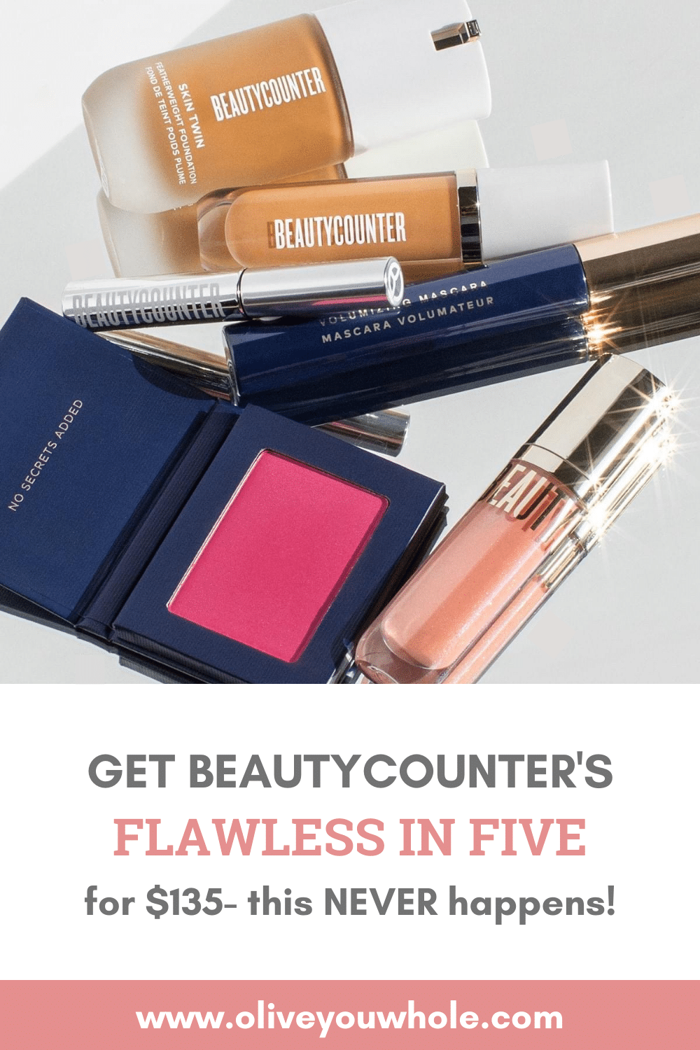 Flawless in Five for $135 Pinterest